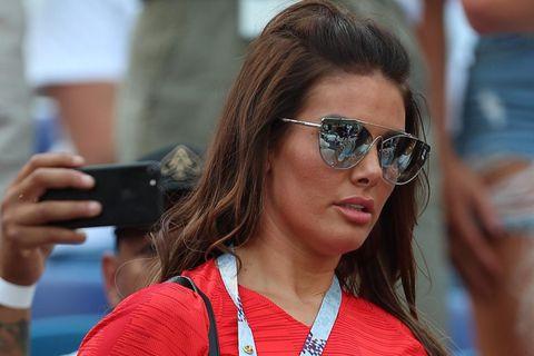 Rebekah Vardy hefur átt erfitt síðan Coleen Rooney sakaði hana um leka.