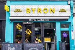 Veitingastaðurinn Byron Hamburgers.