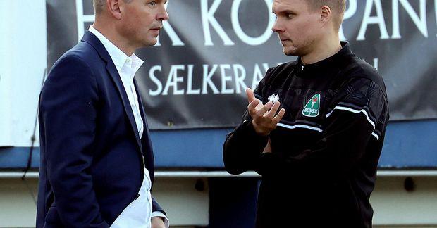 Óskar Hrafn Þorvaldsson og Halldór Árnason munu halda kyrru fyrir í Kópavoginum næstu árin.