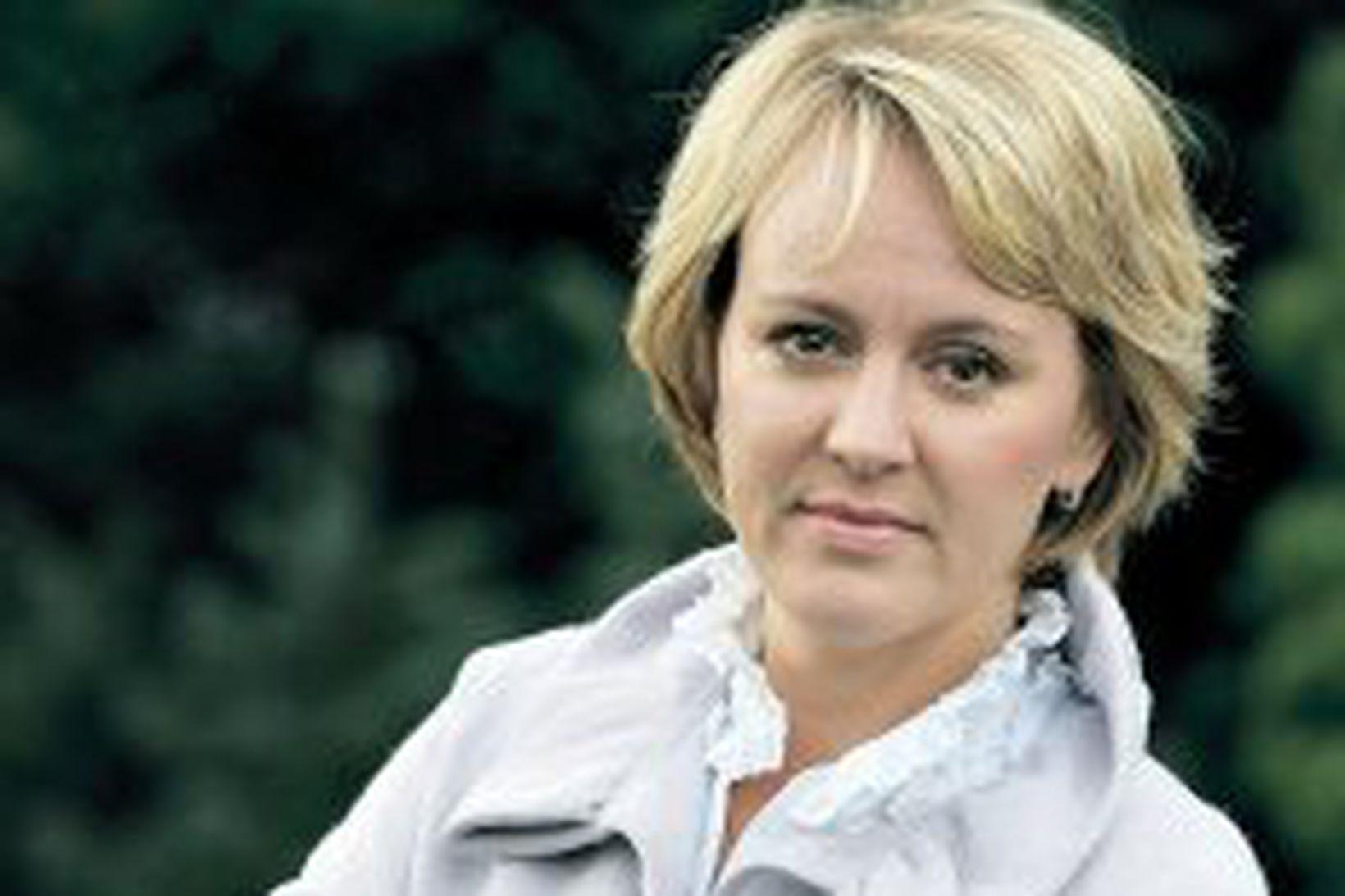 Hanna Birna Kristjánsdóttir.