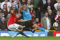 Federico Macheda skorar hér markið fræga gegn Aston Villa. Þetta reyndist aðeins eitt af fjórum …