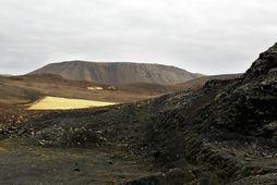 Jarðskjálftavirknin er undir Fagradalsfjalli.
