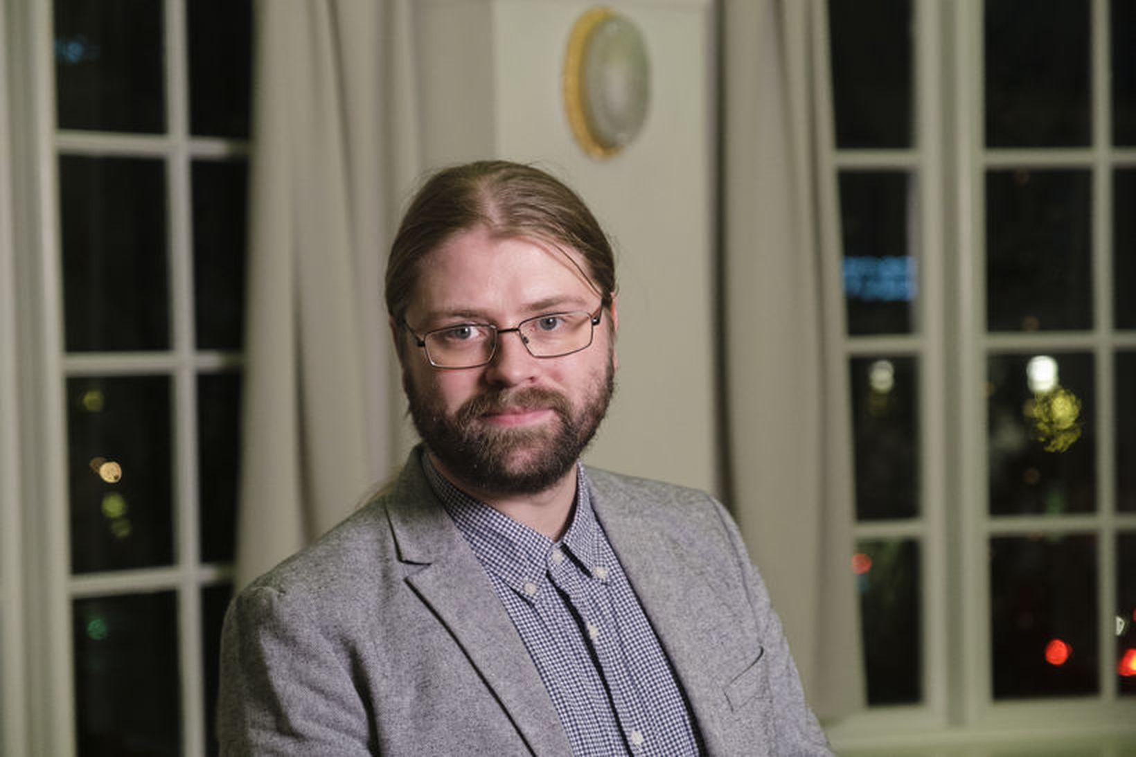 Helgi Hrafn Gunnarsson, þingmaður Pírata, var 12 sinnum á mælendaskrá …