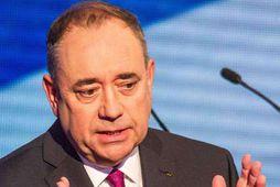 Alex Salmond, forsætisráðherra Skotlands.