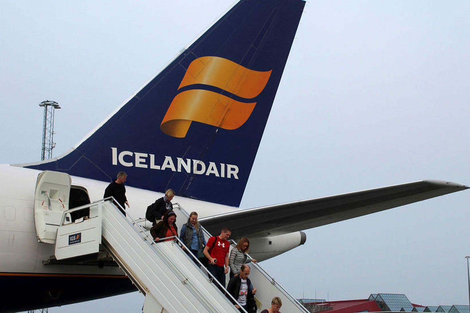 Hlutabréf Icelandair hafa lækkað mikið undanfarna daga.