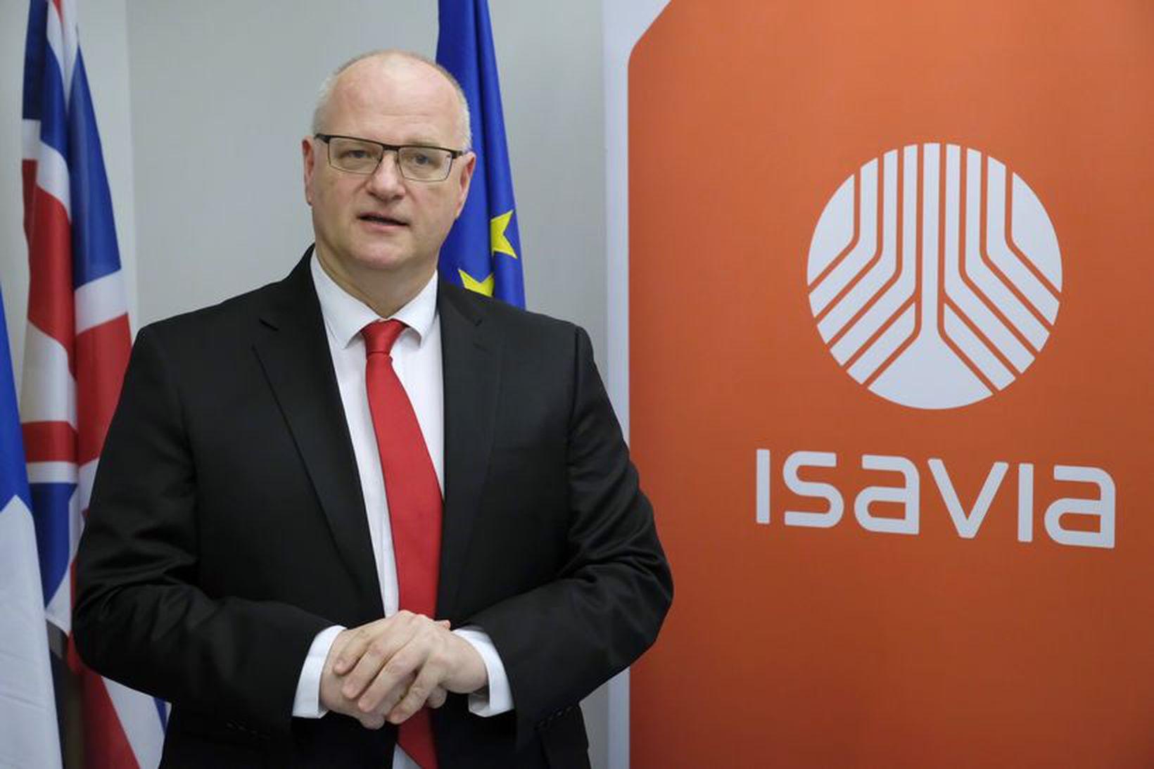 Björn Óli Hauksson, fyrrverandi forstjóri Isavia. Tilkynnnt var í gær …