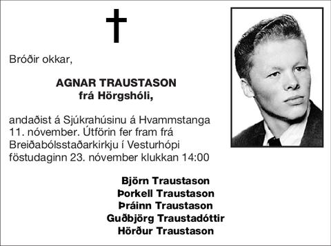 Agnar Traustason
