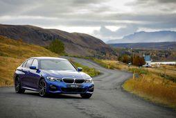 Nýjasta kynslóð BMW 3 er hlaðin tækninýjungum. Meðal annars er hægt að sleppa stýrinu og …