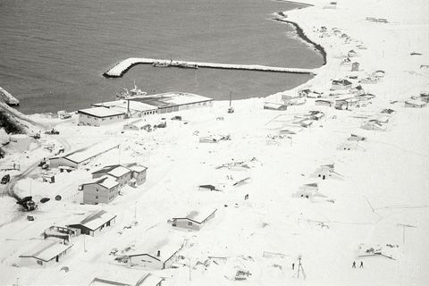 Súðavík, 25 years ago.