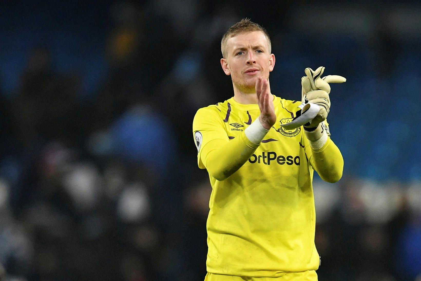 Jordan Pickford markvörður Everton hefur verið aðalmarkvörður Englands undanfarin tvö …