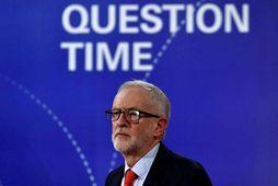 Jeremy Corbyn, leiðtogi breska Verkamannaflokksins, svaraði spurningum kjósenda í sjónvarpssal BBC í gærkvöldi.