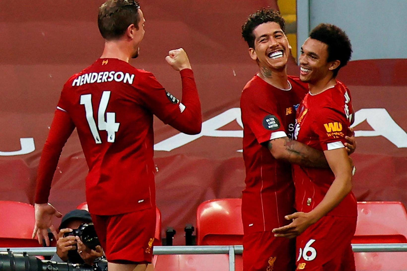 Liverpool er Englandsmeistari 2020.