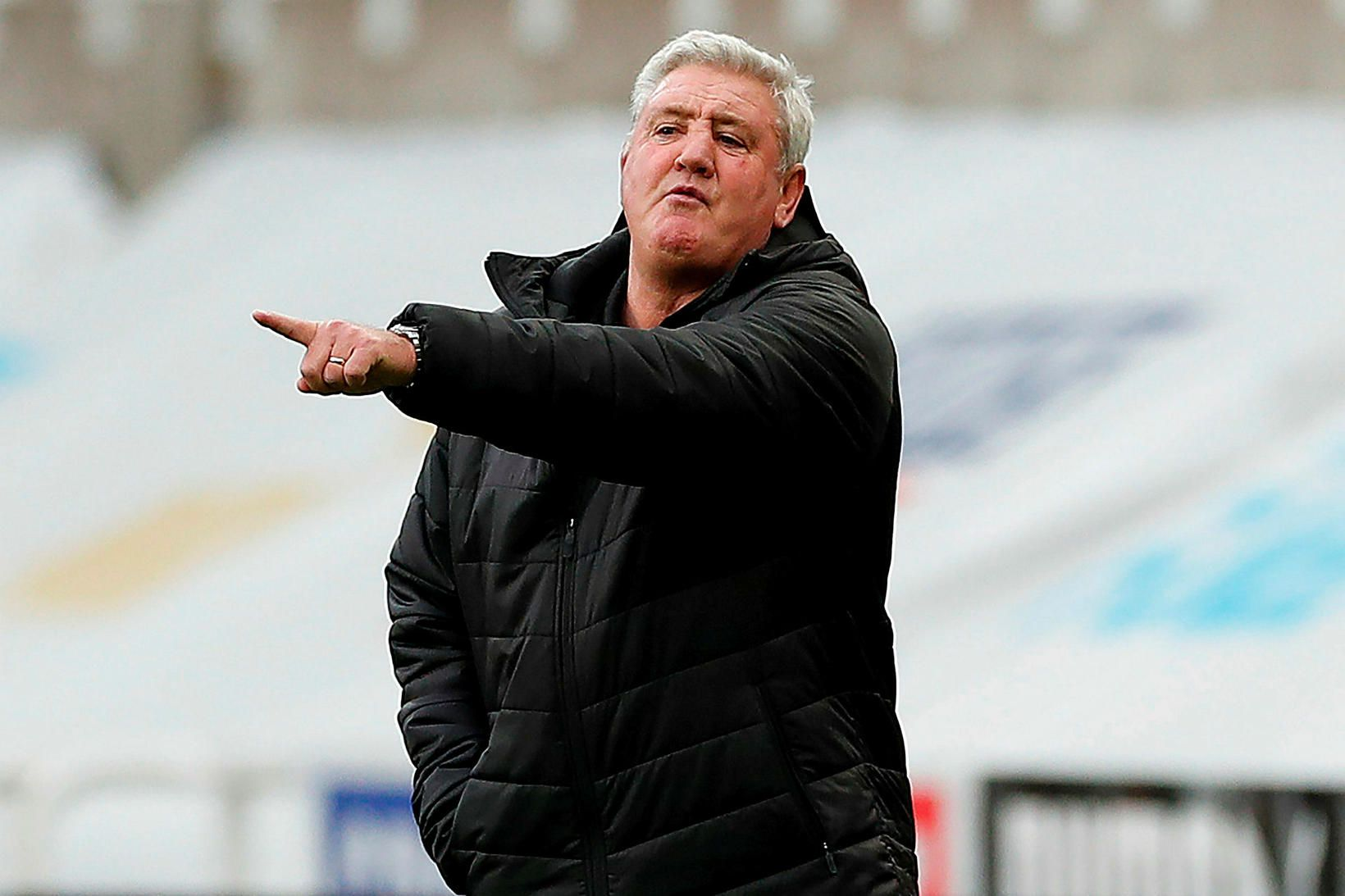 Steve Bruce, knattspyrnustjóri Newcastle United.