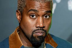 Inniskórnir frá Kanye West féllu í kramið hjá börnunum hans.