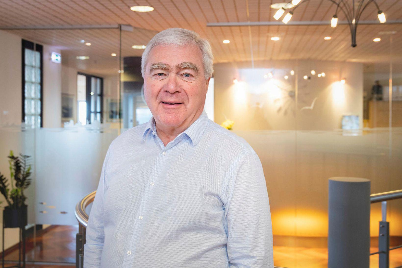 Haraldur Jónsson, eigandi Úthafsskipa.