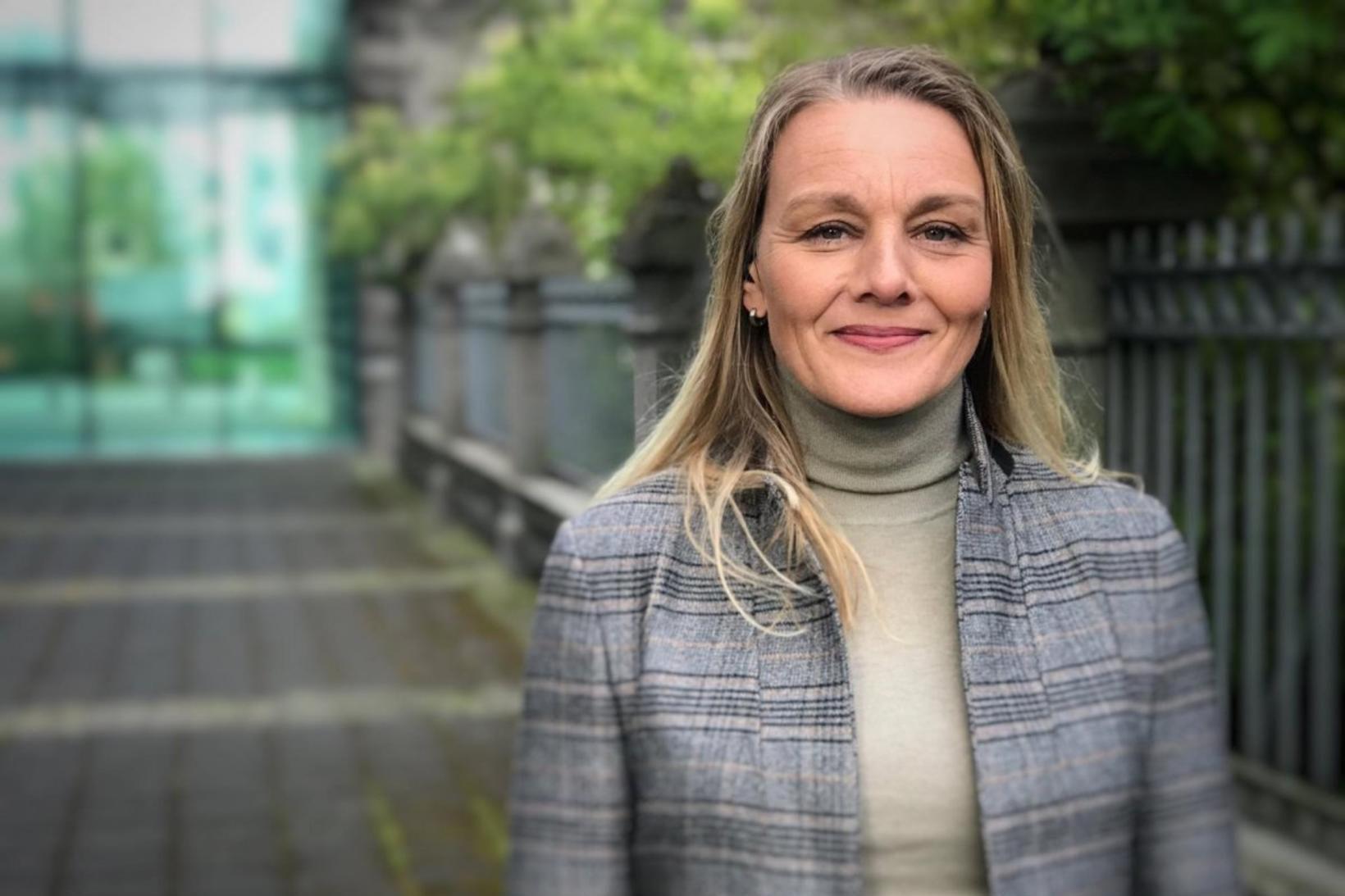 Sigríður Dögg Auðunsdóttir, formaður Blaðamannafélags Íslands.
