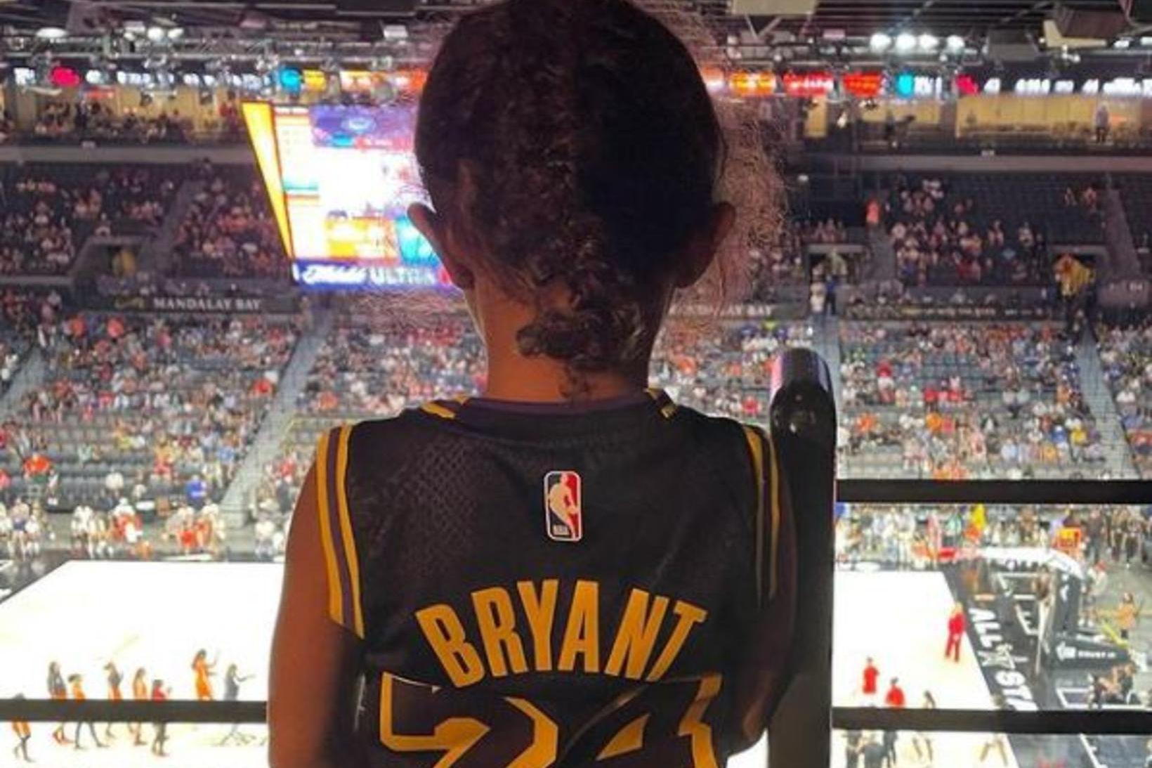 Dóttir Kobe Bryant á WNBA stjörnuleiknum