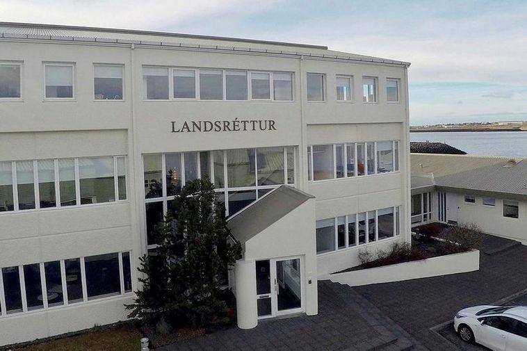 The Landsréttur court house.