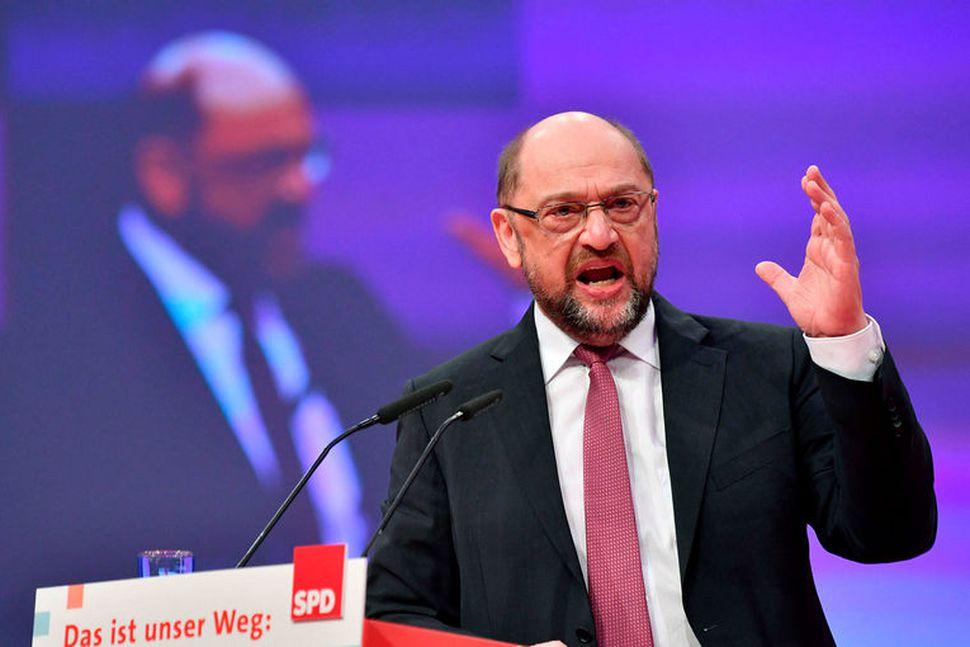 Martin Schulz, leiðtogi þýskra jafnaðarmanna.