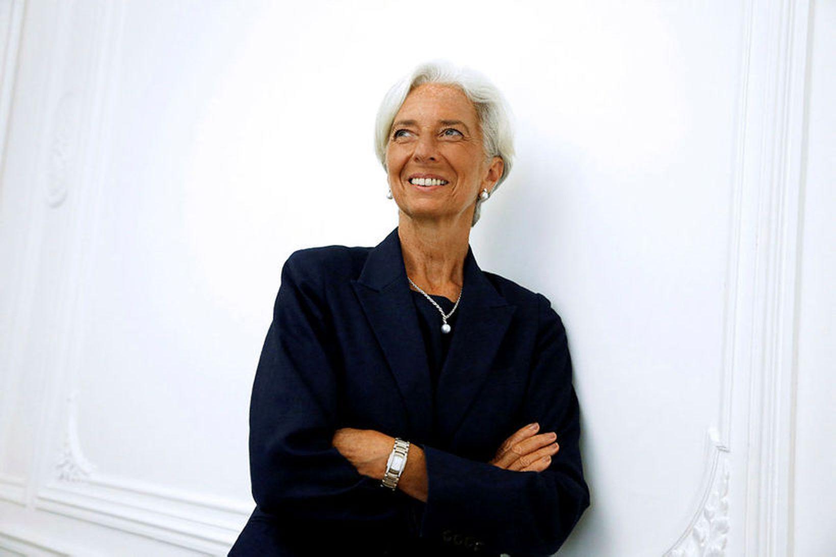 Christine Lagarde, næsti forseti Evrópska seðlabankans.