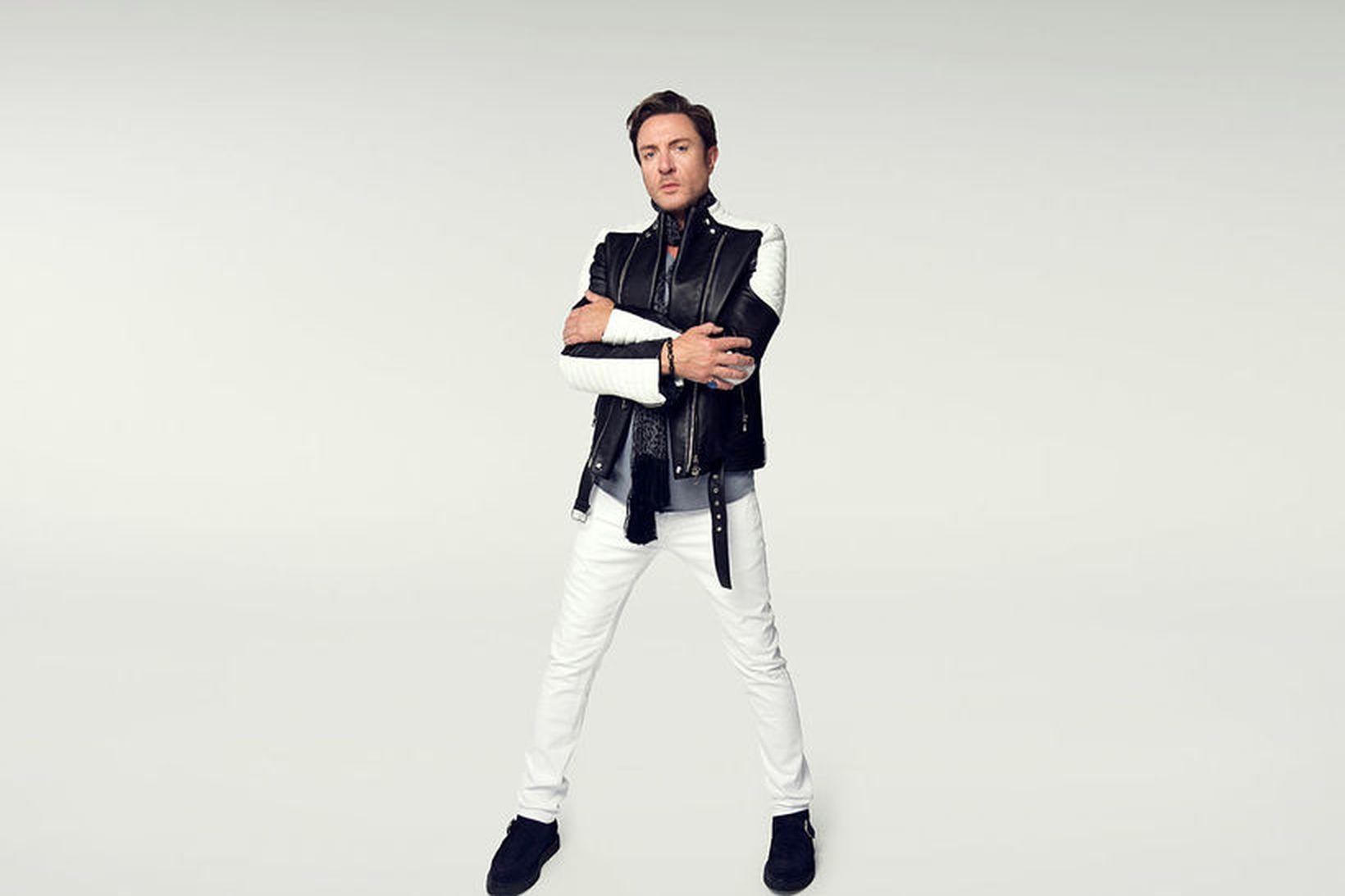 Simon Le Bon, söngvari Duran Duran.
