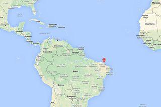 Þau voru handtekin í borginni Fortaleza í Brasilíu.