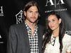 Ashton Kutcher og Demi Moore giftu sig árið 2005.