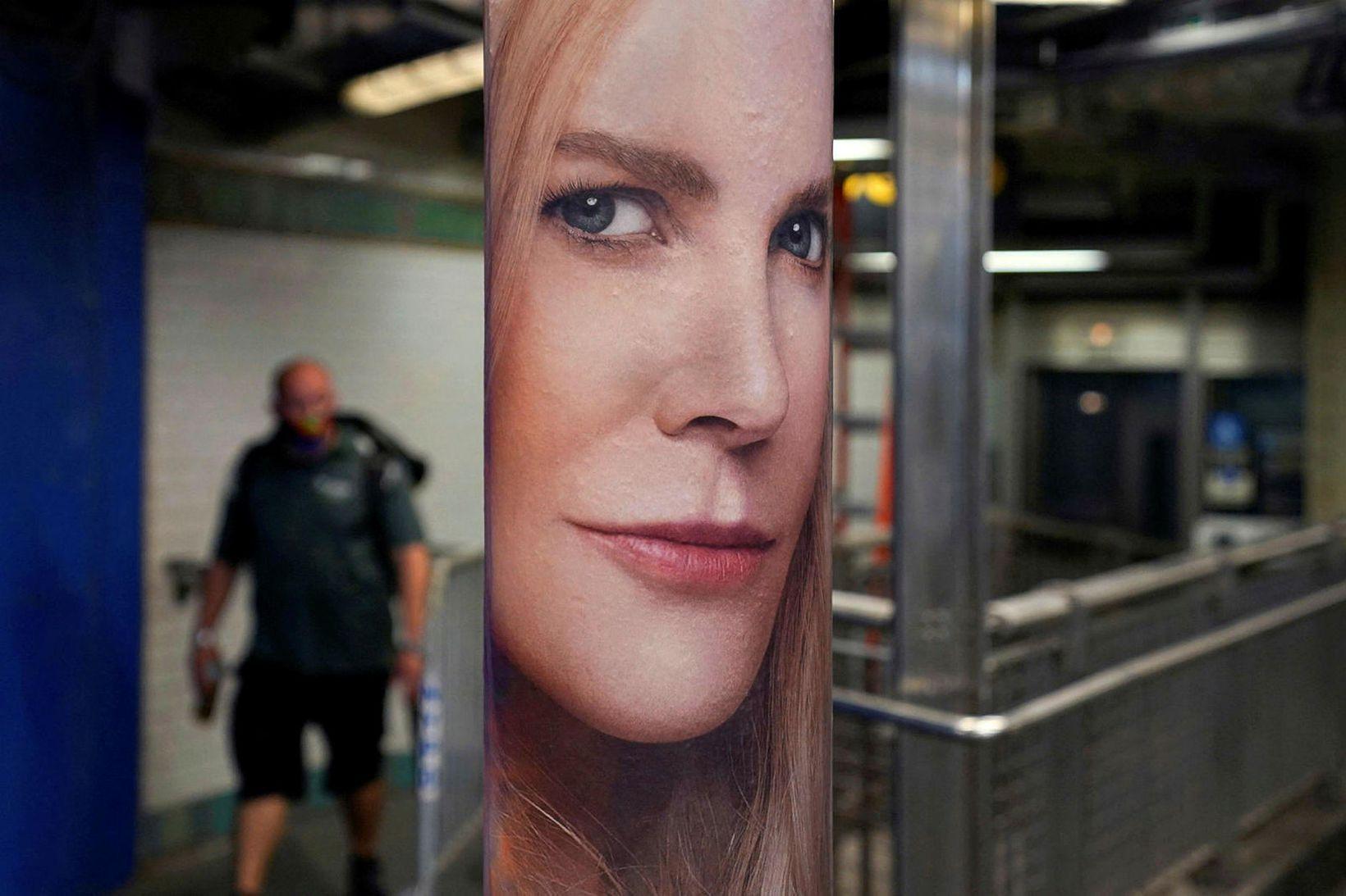 Nicole Kidman í hlutverki hinnar dularfullu Möshu í Nine Perfect …