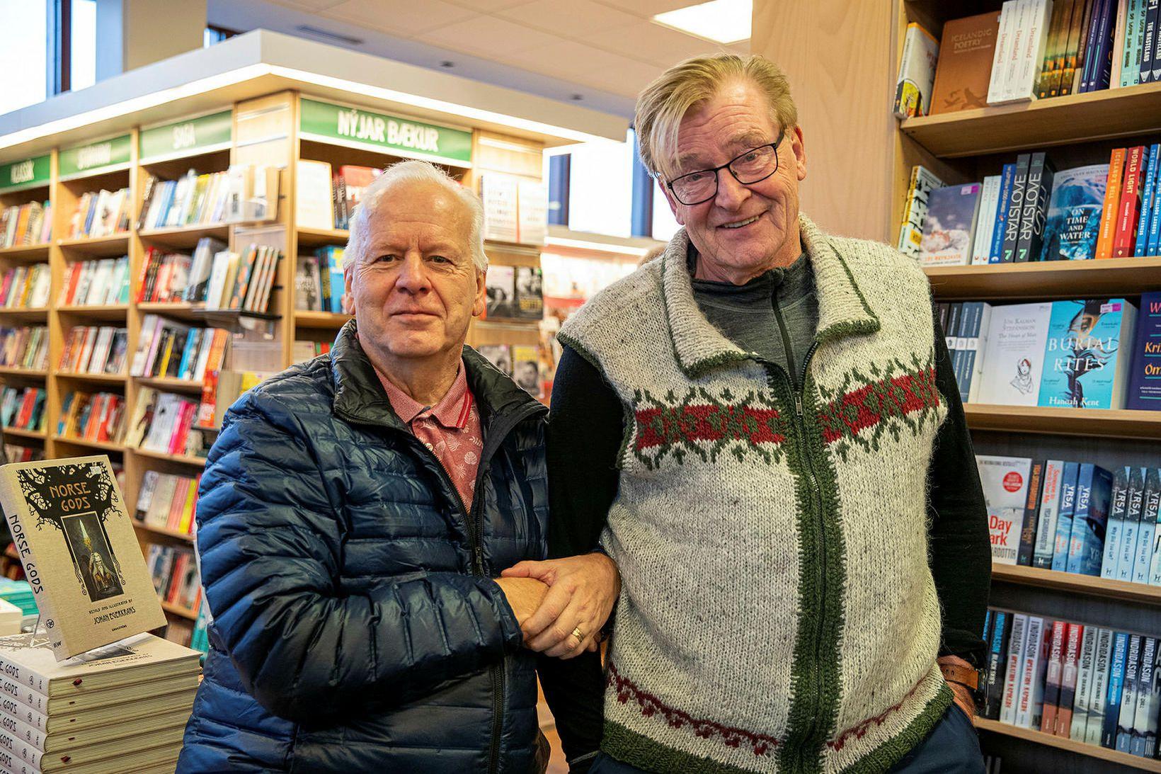 Óttar Guðmundsson og Þórarinn Tyrfingsson.