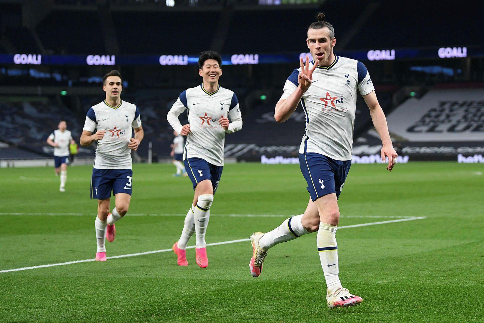 Gareth Bale fór á kostum í dag.
