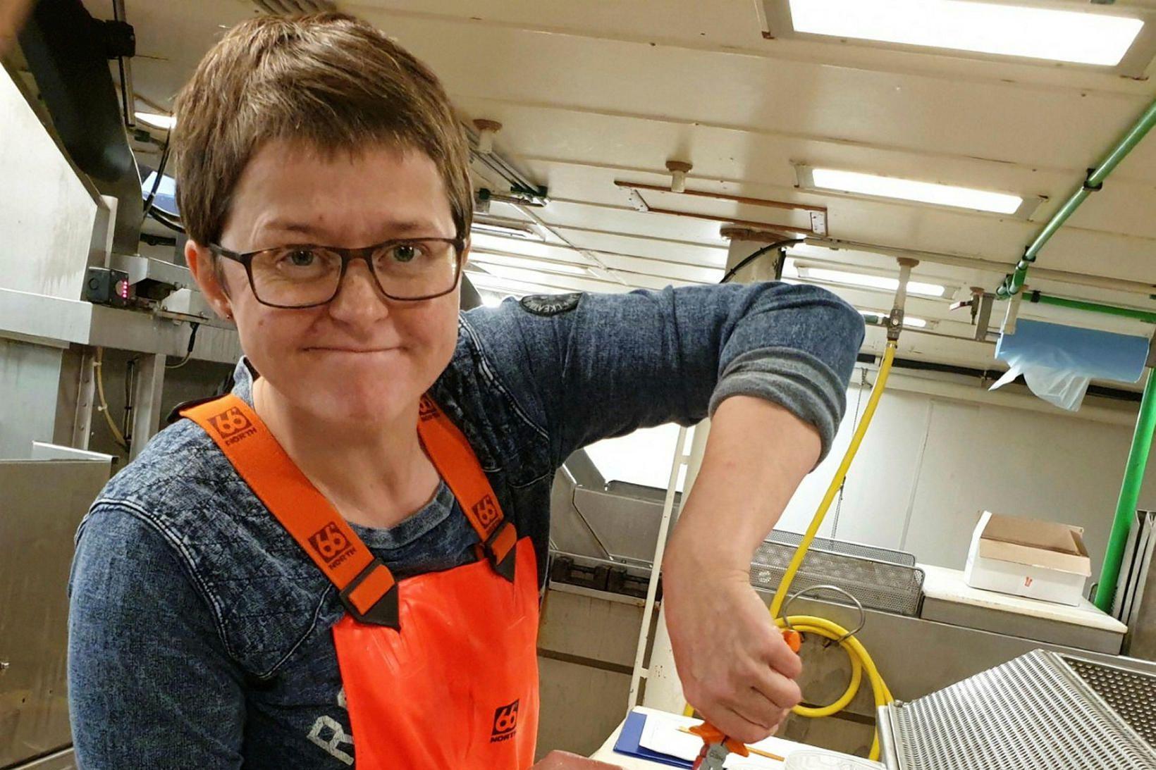 Anna Heiða Ólafsdóttir, fiskifræðingur hjá Hafrannsóknastofnun, segir mikinn óstöðugleika í …