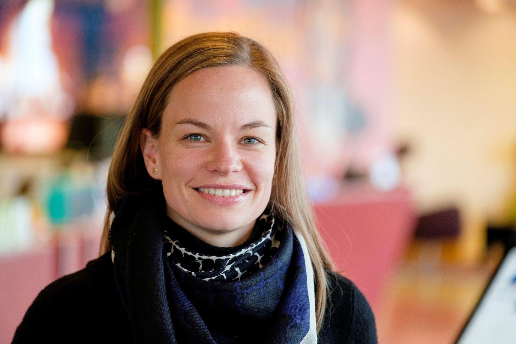 Eva Sóley Guðbjörnsdóttir.