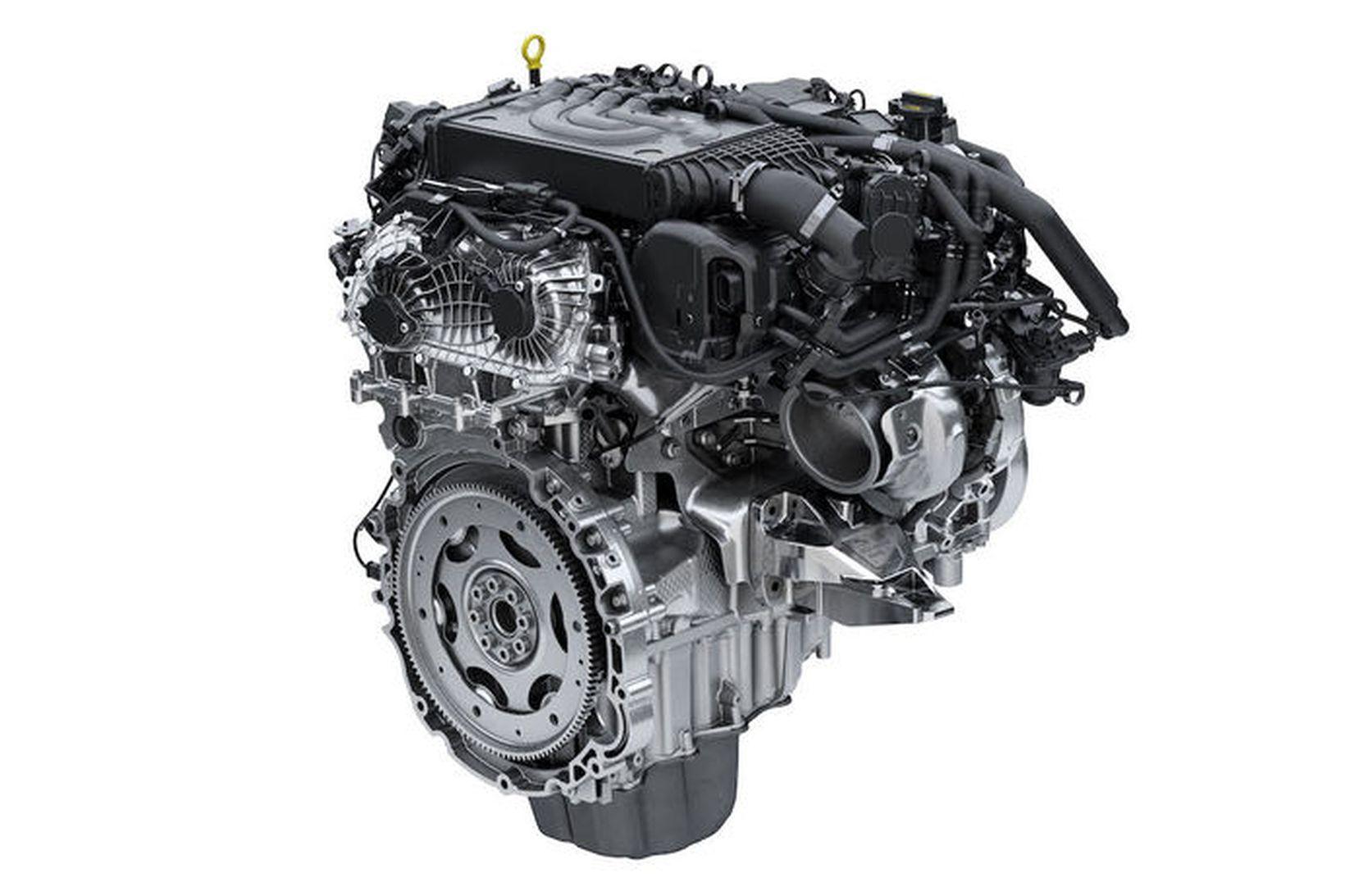 Ný Ingeniumvél Jaguar Land Rover.
