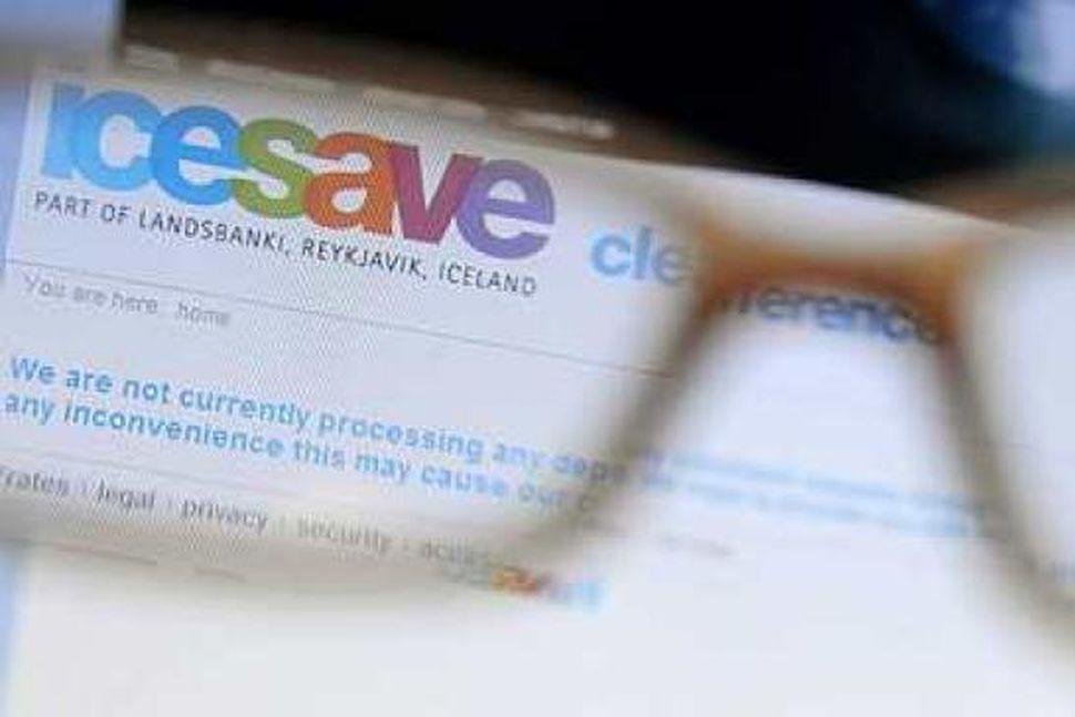 Icesave reikningur Landsbankans