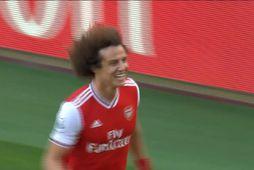 Luiz tryggði Arsenal sigur (myndskeið)