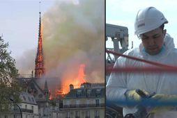 Tvö ár frá eldsvoðanum í Notre-Dame