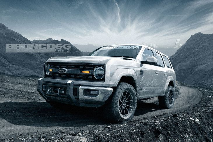 Hugmyndaveitan bronco6g.com sér næstu útgáfu Ford Bronco svona fyrir sér.