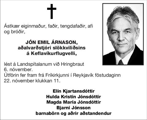 Jón Emil Árnason,