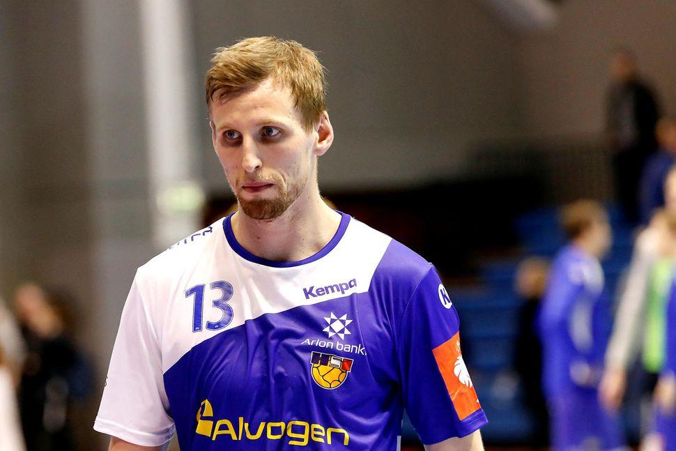 Ólafur Andrés Guðmundsson leikur með Kristianstad.
