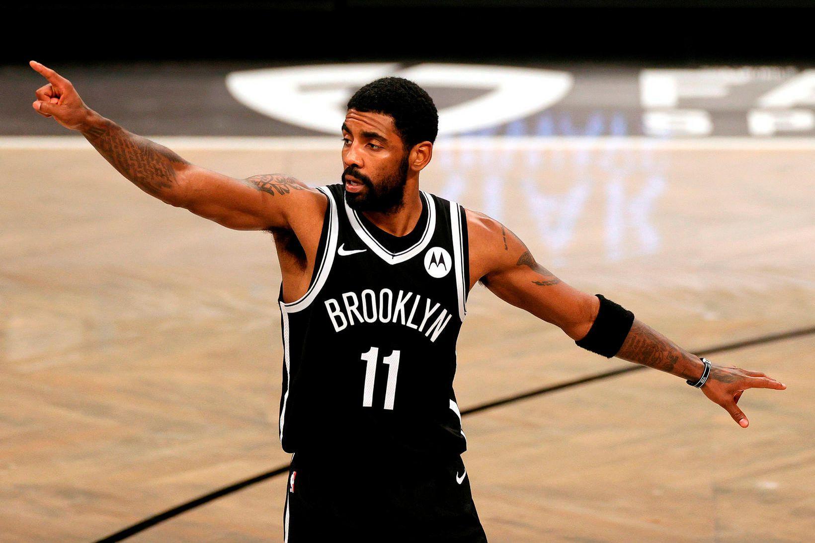 Kyrie Irving, leikmaður Brooklyn Nets.