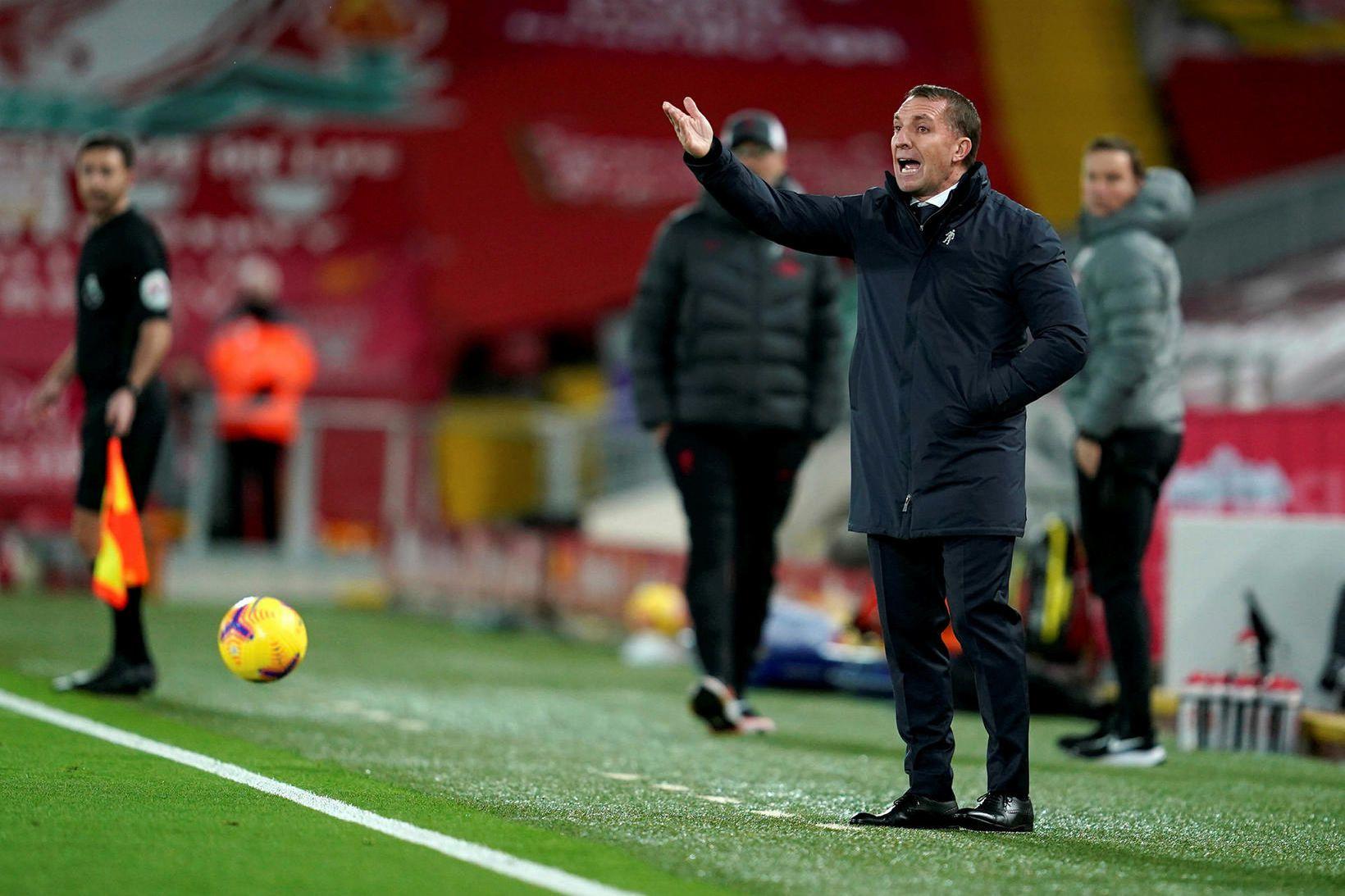 Brendan Rodgers snéri aftur á sinn gamla heimavöll um síðustu …