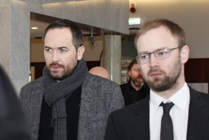 Magnús Arnar Arngrímsson og Almar Möller, lögmaður.