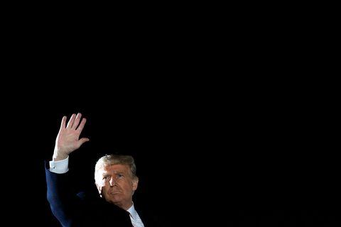 Forseti Bandaríkjanna, Donald Trump.