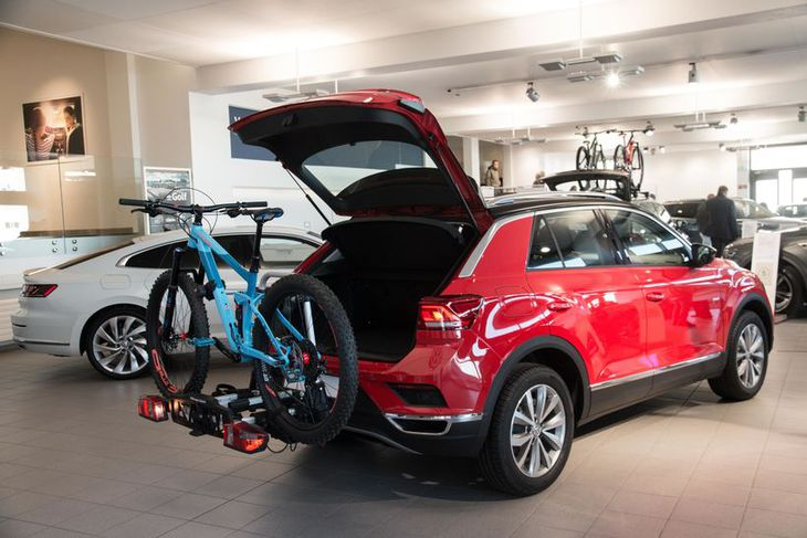 Volkswagen T-Roc á sýningu Heklu.