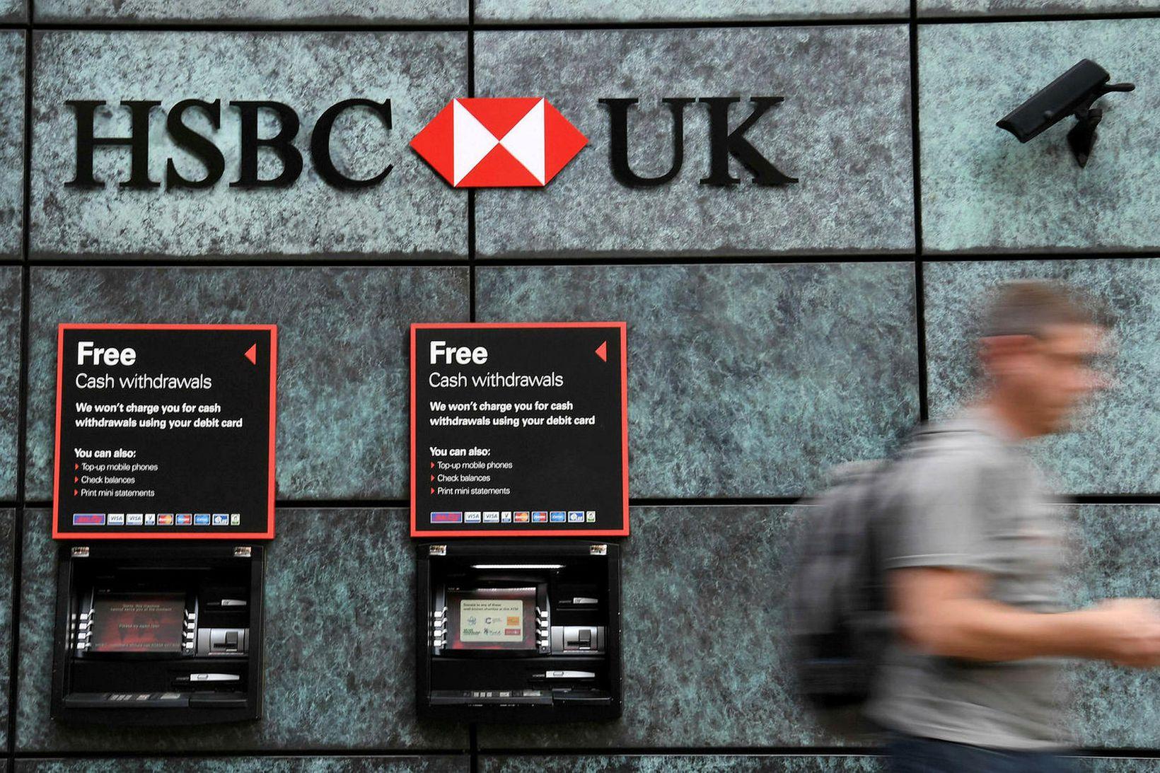 HSBC er stærsti banki Bretlands.