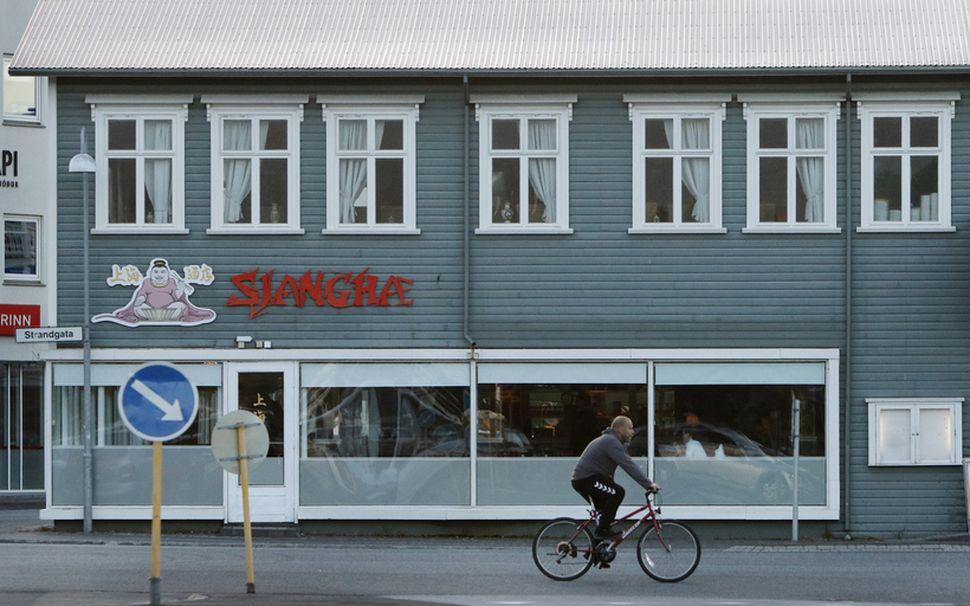 Sjanghæ-málið svokallaða vakti mikla athygli og var fyrirferðarmikið í fjölmiðlum ...