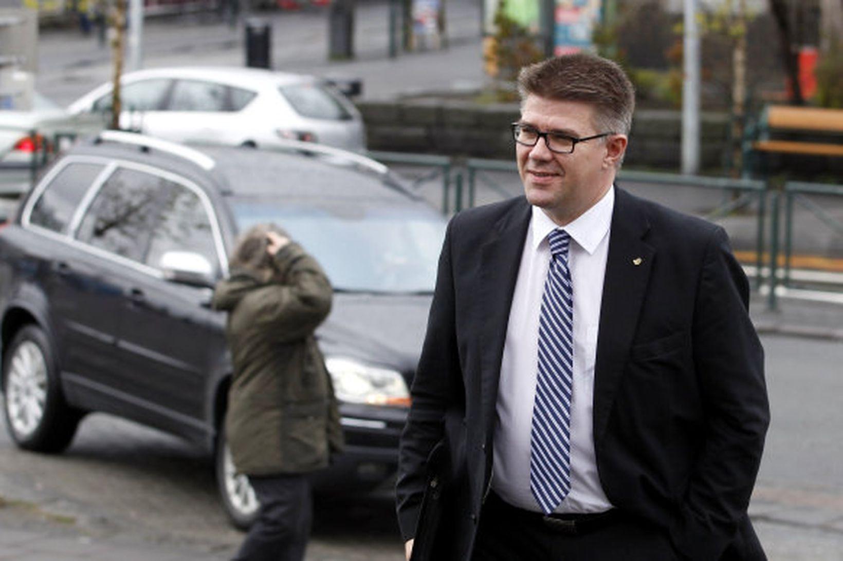 Gunnar Bragi Sveinsson - utanríkisráðherra