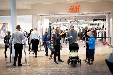 The H&M store in Smáralind in Kópavogur, a suburb of Reykjavik.