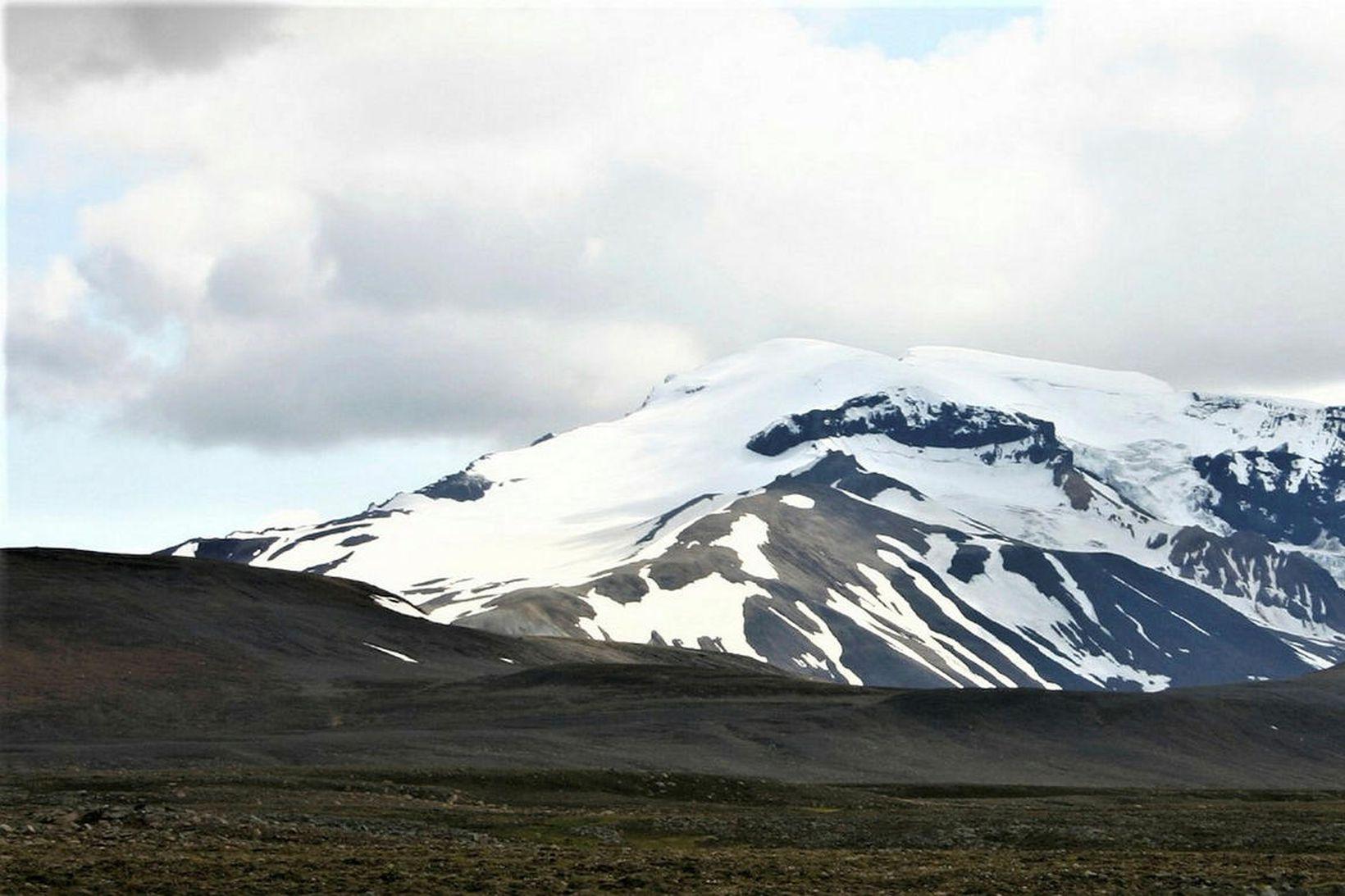 Snæfell í Vatnajökulsþjóðgarði. Fyrsta smitið á Austurlandi kom upp í …