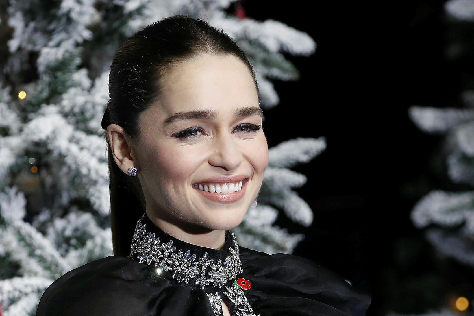 Emilia Clarke vildi ekki að fólk liti á sig sem …